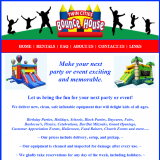 Twin Cities Bounce House website