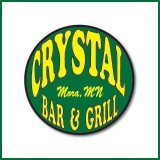 Crystal Bar & Grill business card