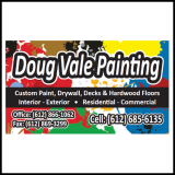 Doug Vale business card